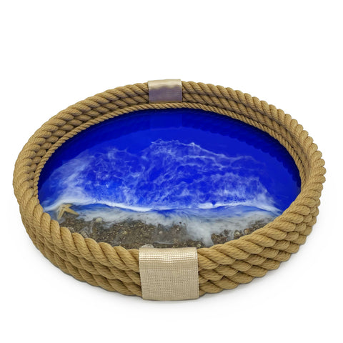 Nautical Tray-Beige
