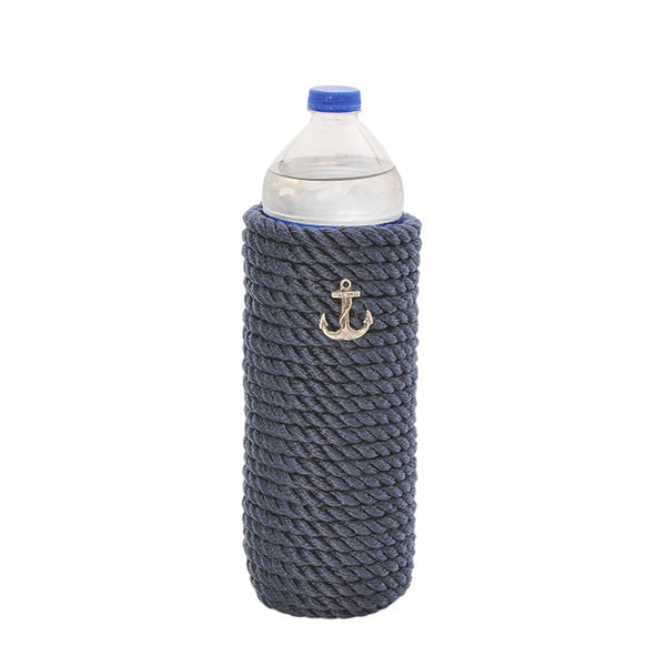 Nautical Bottle Sleeve-Blue
