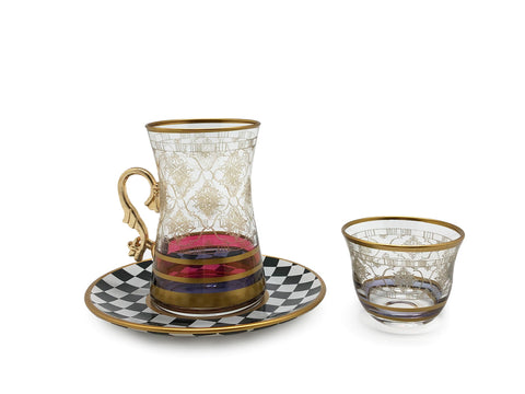 Majestic Tea and Arabic Coffee Cups Set