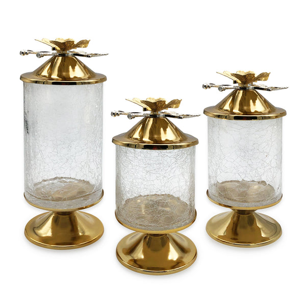 Butterfly Jars-Set of 3