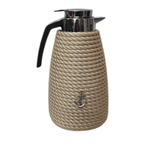 Nautical Rope Luxury Coffee Carafe-Cream
