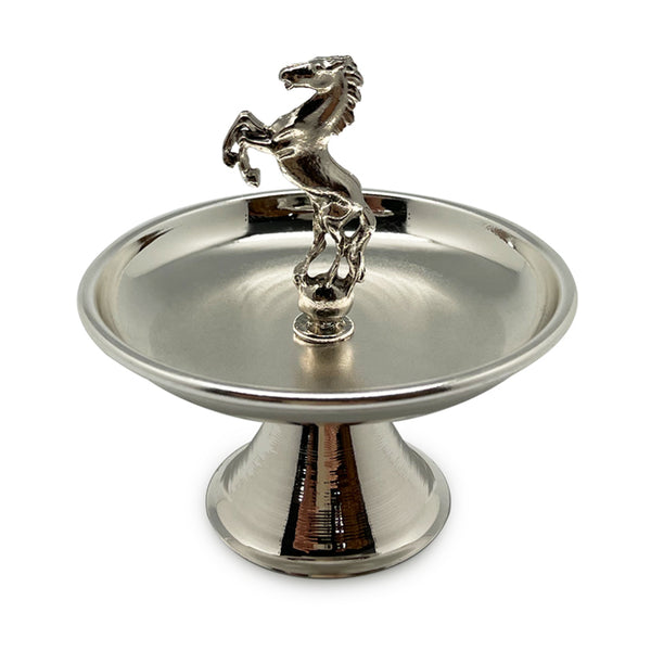 Silver Horse Mini Display Stand