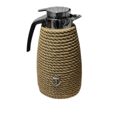 Nautical Rope Luxury Coffee Carafe-Beige