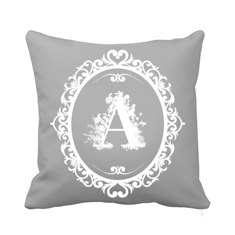 Signature Cushion Letter A