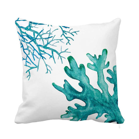 Saint Tropez cushion blue white