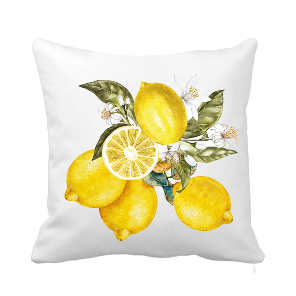Fresh Lemonade Cushion Yellow and Green