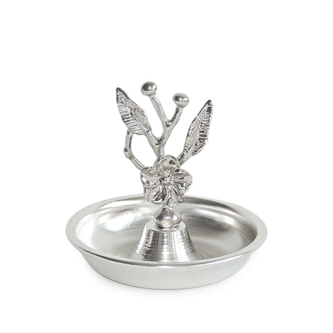 Rose Condiment Bowl-Silver