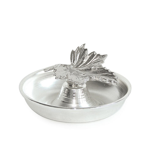 Leaf Condiment Bowl-Silver