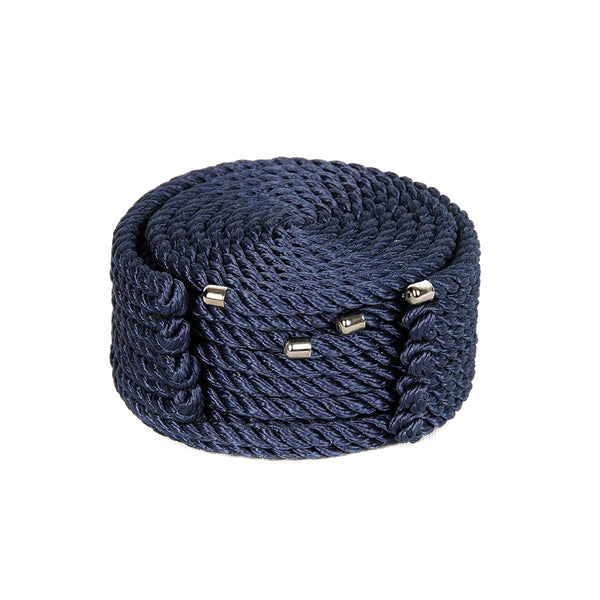 Rope Coasters Blue