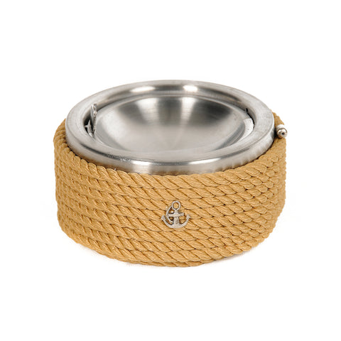 Chrome Ashtray Beige