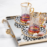 Imperial Tea and Arabic Coffee Cups Set