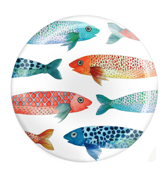 Designer Dinner Plate Set- Mullets