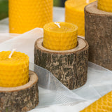 Beeswax Tealight Candles Set