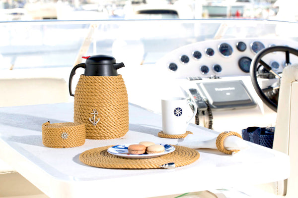 Nautical Rope Coaster Set