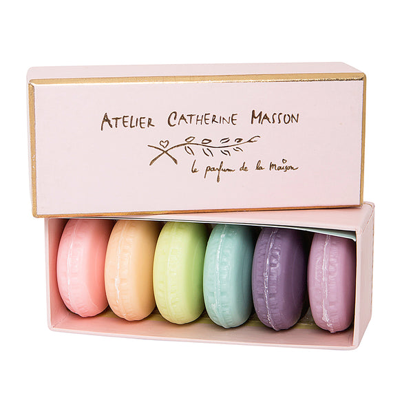 Macaron Soaps by Atelier Catherine Masson