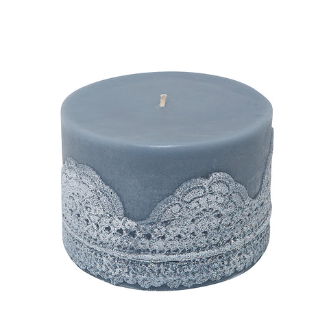Lace Candle Purple