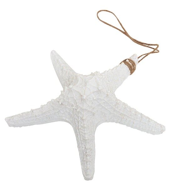 White Starfish Wall Decor