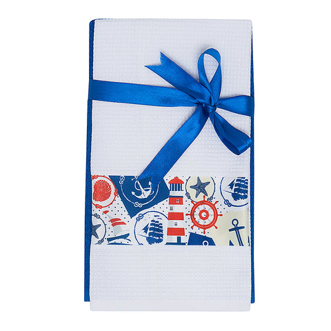 Marine Kitchen Towel Set - Maritime