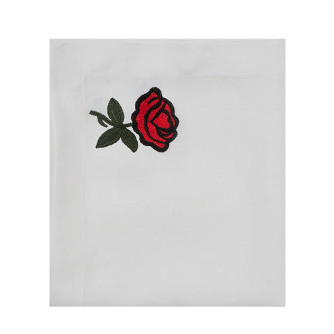 Rose Linen Table Cloth