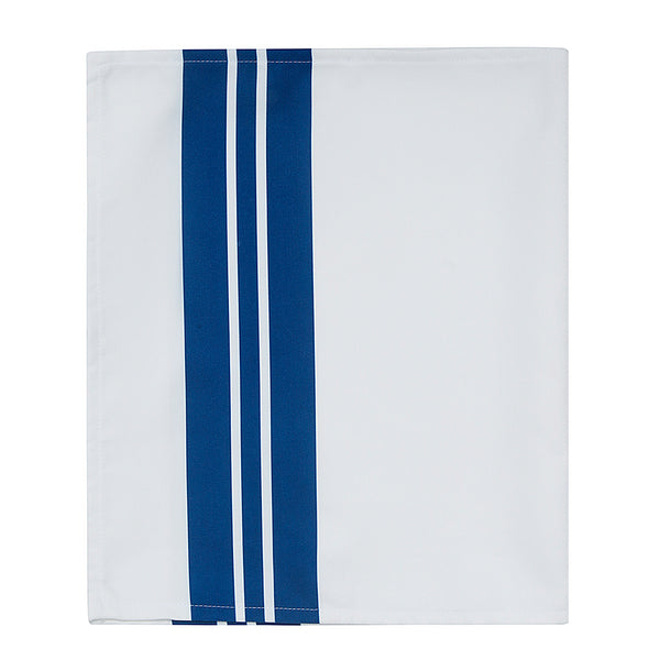 Blue Joy Table Runner Blue White