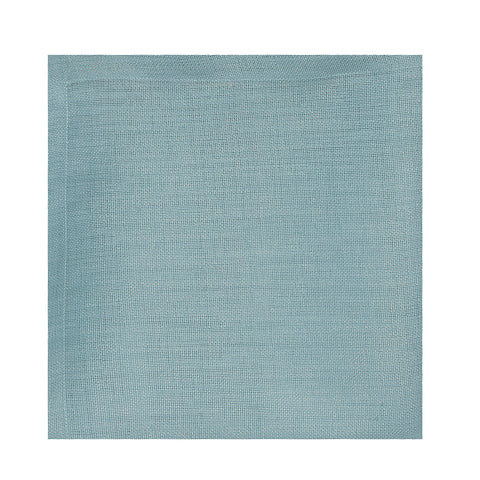 Glitter Linen Table Cloth - Saint Tropez Blue