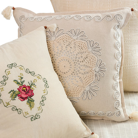Rosy Organic Cushion