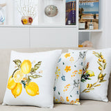 Sweet Mimosa Cushion Yellow and Green