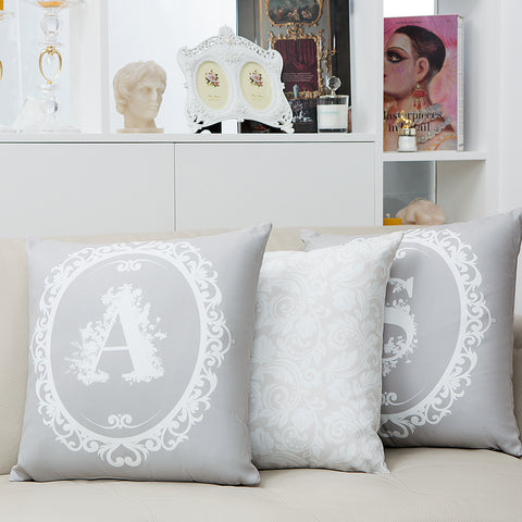 Signature Cushion Letter D