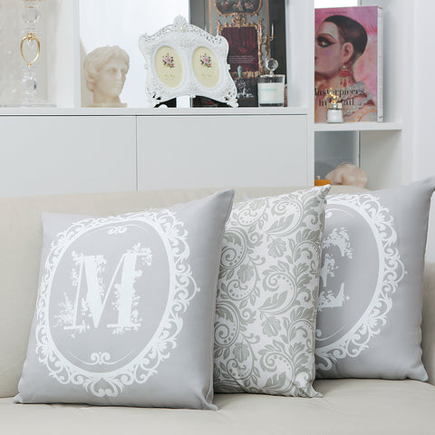 Signature Cushion Letter M