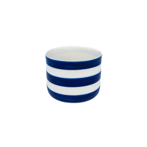 Fine Porcelain Artisan cup- Classic Medium Navy Blue