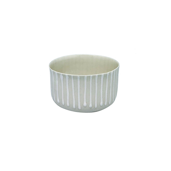 Fine Porcelain Artisan cup  - Classic Small White
