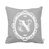 Signature Cushion Letter N