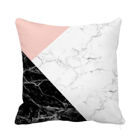 Black Marble Cushion