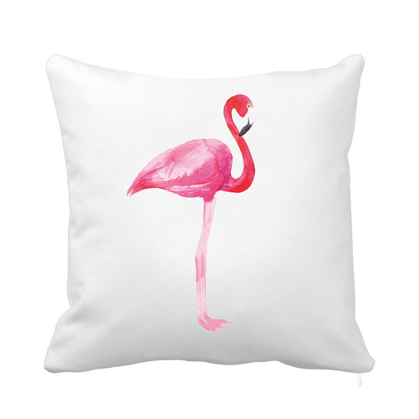 Flamingo Charm Cushion
