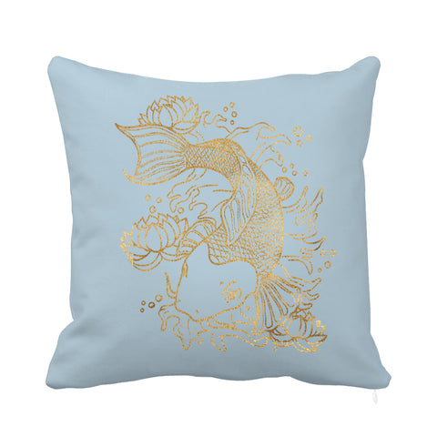 Gold Fish Cushion