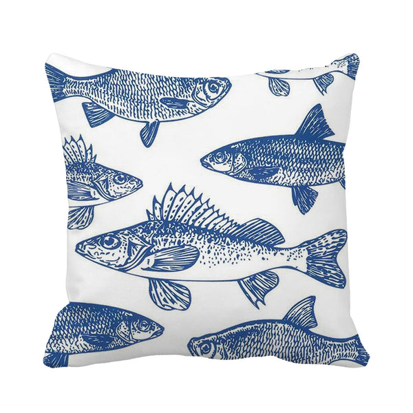 Deep Blue Cushion