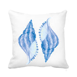 Blue Shell cushion