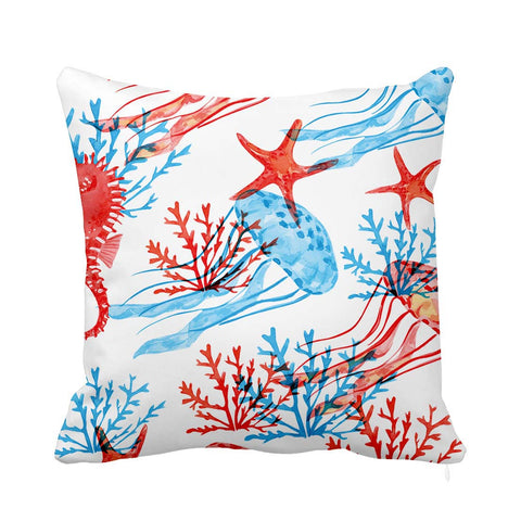 Blue Jelly Cushion