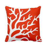 Bright Coral Cushion