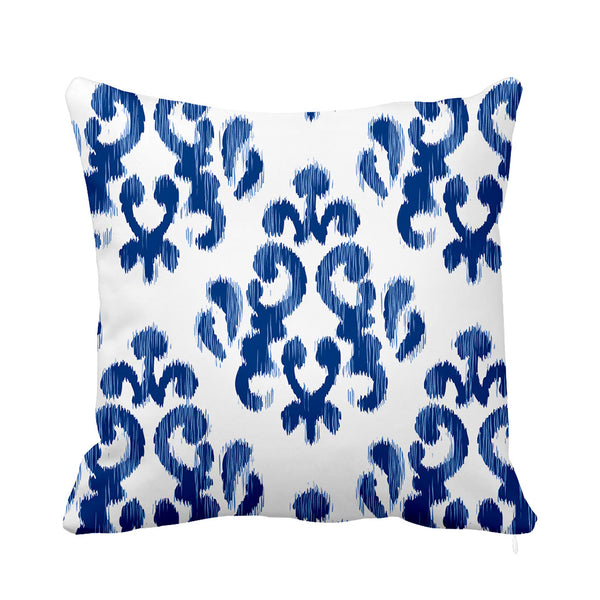 Blue Sky Cushion White