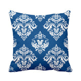 Celestial Cushion Blue and White