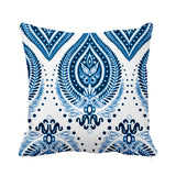 Ocean Breeze Cushion Blue White