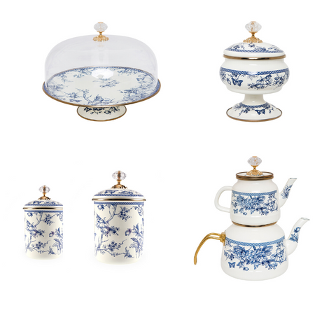 Azure Vintage Set of 5