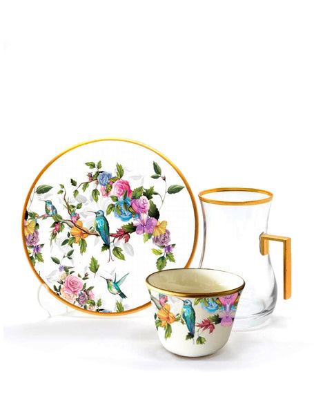 Birdie Tea and Gahwa Set