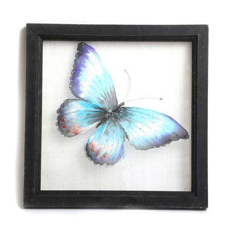 Blue Butterfly Wall Decor