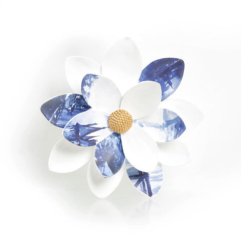 Blue Flower Wall Decor