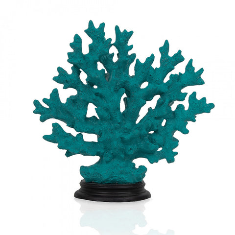 Turquoise Coral Decor