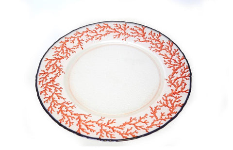 Coral Pink Plate-33cm