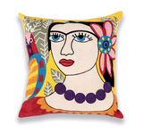 Picasso Cushion Cover Floral
