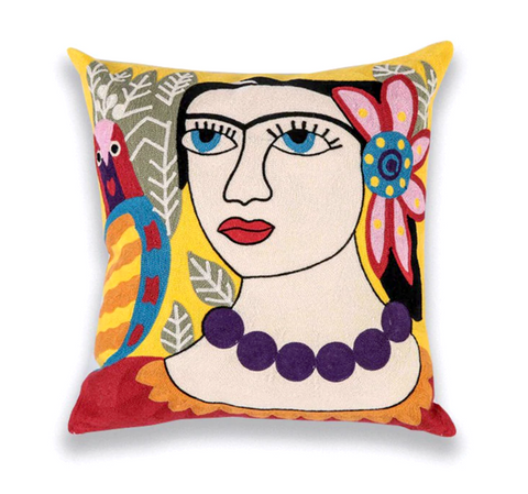 Limited Edition Picasso Cushion Cover- Floral